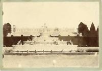 France, Versailles, Palais de Trianon  vintage albumen print Tirage albuminé