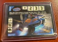 Acceleracers Cards MINT Spectyte Card! EHTF! RARE!