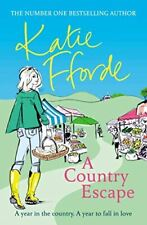UsedVeryGood, A Country Escape, Fforde, Katie, Paperback