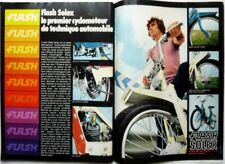 FLASH SOLEX => PUBLICITE coupure de presse 2 pages 1970  //  CLIPPING