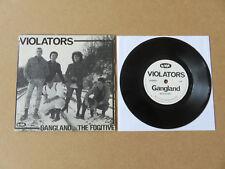 "VIOLATORS Gangland / The Fugitive NO FUTURE 7"" RARE 1982 UK 1ST PRESSING Oi 9"