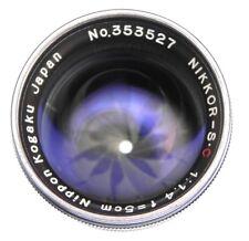 Nikon RF Chrome 5cm f1.4  #353527