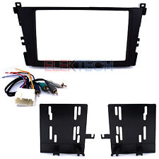 Radio Replacement Dash Mount Kit 2-DIN & Amplifier Retention Harness for Acura