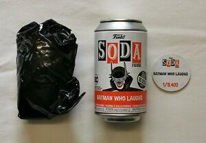 Common Batman Who Laughs Funko Soda. DC Comics. 1/8,400 Pc Ltd Ed. Sealed Bag.