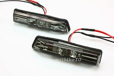 BMW E53 X5 E36 Sedan Coupe LED Side Marker Repeater Lights Lamps 3-series- SMOKE