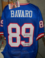 MARK BAVARO AUTOGRAPH SIGNED NEW YORK GIANTS ADULT XL JERSEY JSA SUPER BOWL