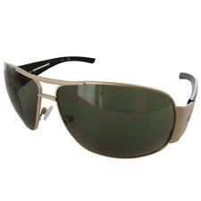 Guess Womens GF0143 Wire Rim Wrap Around Fashion Sunglasses, Gold/Green
