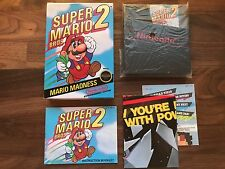 Super Mario Bros 2 (Nintendo NES, 1988) CIB Complete Nr Mint Gold Seal First Run