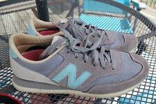 NEW BALANCE 620 Redwoods Sneakers WOMENS SZ 7 Aqua Gray Suede Gum Sole