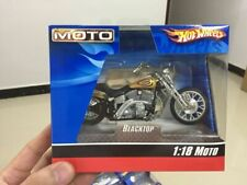 Hot Whheels 1:18 Scale Moto Blacktop Bike Mattel Wheels