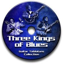 ALBERT KING, FREDDIE KING & SI BEMOLLE BLUES CHITARRA INTAVOLATURE CD SOFTWARE