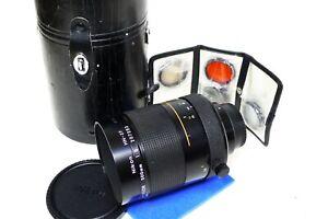 Nikon 500mm f8 Reflex Mirror Lens Late Model for Film & Digital SLR Mint LOOK!