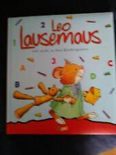 GEB<BILDERBUCH<LEO LAUSEMAUS WILL NICHT IN DEN KINDERGARTEN<KINDERBUCH