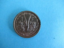 FRENCH EQUATORIAL  AFRICA  -1 FRANC 1948 , ESSAI, PATTERN ,- RARE