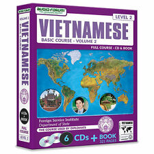 FSI: Basic Vietnamese 2 (6 CDs/Book) by Foreign Service Institute *NEW IN BOX*