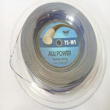 Big Banger Alu Power tennis string ,Durable power no priting brand string --grey