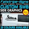 FORD CUSTOM SWB MOUNTAIN BIKE RACE CAMPING CAMPER VAN STICKERS GRAPHICS DECALS