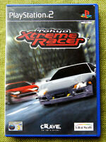 Tokyo Xtreme Racer (Sony PlayStation 2, 2001, PAL, PS2, Game, Manual)
