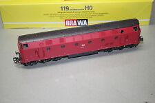 Brawa 0435 Diesellok Baureihe 219 021-3 DB rot DSS Spur H0 OVP