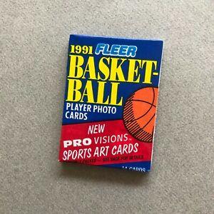 1 pack 1991-92 Fleer Basketball Jordan cartes nba Vintage