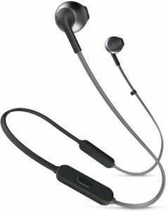 JBL Harman Tune205BT Wireless In-Ear Headphones Bluetooth Microphone Black