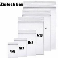 High-end Clear Thick Zip Lock Zip Zipped Lock Bag Food Package Storage Bag Top