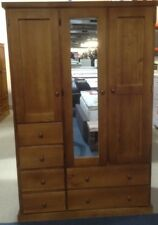 Wardrobe,1200 wide with 6 drawers STAINED