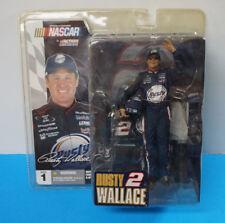 MCFARLANE NASCAR SERIES 1 RUSTY WALLACE #2 ELVIS PRESLEY FIGURE SEALED