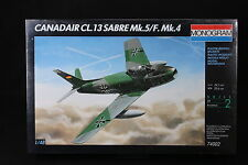 YF023 MONOGRAM 1/48 maquette avion 74002 Canadair CL.13 Sabre Mk.5/F.Mk.4 49 Pcs