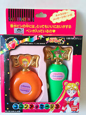 Sailor Moon S Perfume Bottle pen Jupiter & Venus vintage Bandai Japan NEW