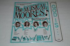 The Musical Moores~Christian Action Records~America's Youngest Gospel~Odd~RARE