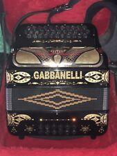 Gabbanelli 34 Button  3 Row  FBE Accordion w/ case