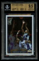 2003 Topps Chrome Carmelo Anthony #113 Rookie RC BGS 9.5 Gem Mint