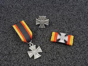 Set Bundeswehr Veteranenabzeichen Bandspange Miniatur SONDERPREIS
