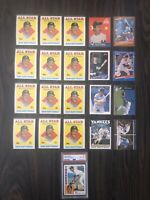 Huge DON MATTINGLY Card Collection With PSA Graded Rookie