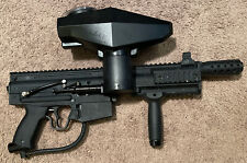 Tippmann X7 Paintball Marker with Upgrades. Bag included.