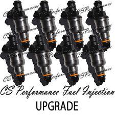 Oem Bosch Ii Upgrade Fuel Injectors 8 Set For 1996 1999 Jeep 52l 59l V8
