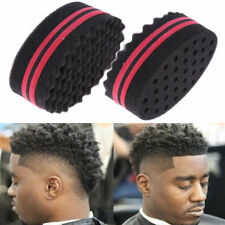 1x Wave Barber Hair Brush Sponge For Dreads Afro Locs Twist Curl Coil Magic Tool