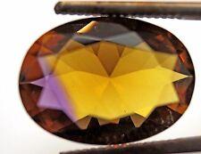 9.37 CT. AAA! PURPLE & GOLDEN AMETRINE OVAL18 x 13 mm