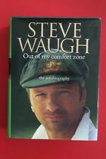 *SIGNED 1ST ED* OUT OF MY COMFORT ZONE - AUTOBIOGRAPHY - Steve Waugh HC/DJ, 2005