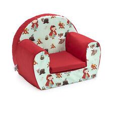 Little Red Hood Childrens Kids Comfy Foam Chair Toddler Armchair Seat Girls