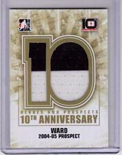 CAM WARD 13/14 ITG H&P 10th Anniversary Tribute HUGE Game-Used Jersey #AP-94