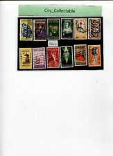 12 PCS SOUTH AFRICA USED STAMPS # S304