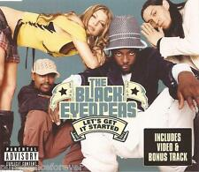 THE BLACK EYED PEAS - Let's Get It Started (UK 4 Tk Enh CD Single)