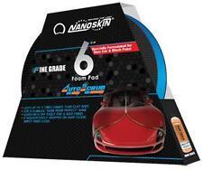 "NANOSKIN AUTOSCRUB 6"" Foam Pad FINE Grade Clay Surface Bar Towel Speedy AS006"