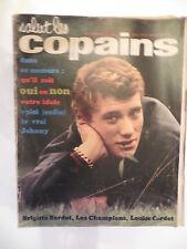 Salut les copains – N° 7 – février  1963 – Brigitte Bardot, Claude,  Johnny Hall