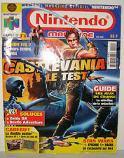 MAGAZINE NINTENDO OFFICIELLE NINTENDO 64 GAME BOY N°15 MAI 1999 CARTE ZELDA DX