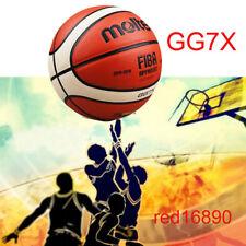 ballon de GG7X taille 7 PU cuir hommes basket-ball formation jouer jeu de sport