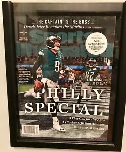 New In Frame Sports Illustrated Nick Foles Philly Special Super Bowl LII Edition