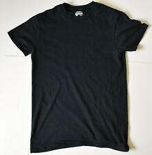 Mens Old Navy USA Plain Black T-Shirt in Size Medium